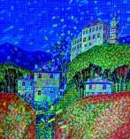 Kolorowa jura I - techn. mieszana, 70x50 cm, 2012 r.